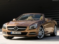 New Mercedes SL model