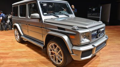 Mercedes-Benz G65 New York Auto Show