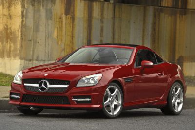 Lease A Convertible Mercedes SLK - Just In Time For Spring