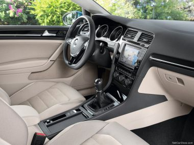 Interior  VW Golf 2.0 TDI GTD