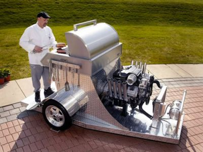 hemi car barbeque