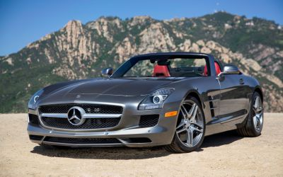 Meet The Most Expensive Lease Vehicle: Mercedes Benz SLS AMG Roadster