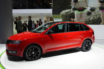Skoda has confirmed Rapid Spaceback for production in late 2013