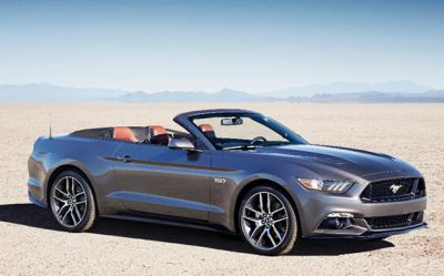 Ford Shelby GT350 Mustang Convertible