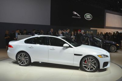 Jaguar XF New York Auto Show