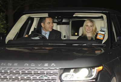 David Walliams Range Rover