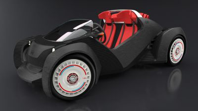 World's First 3D Printed Car