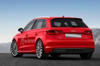 Audi A3 from behind
