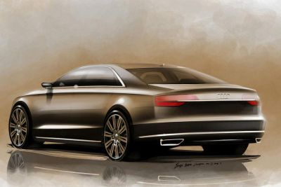 New Design Audi A8 for 2014