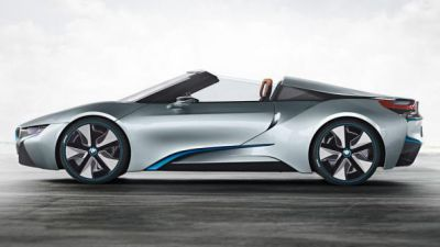 BMW i8 concept hybrid roadster to appear at the 2012 LA motor show
