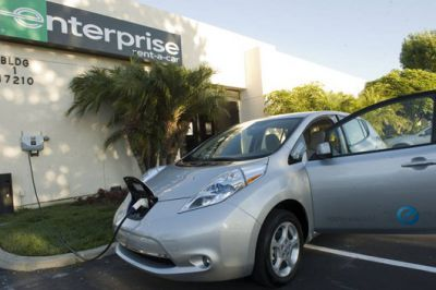 Enterprise adds plug-in cars