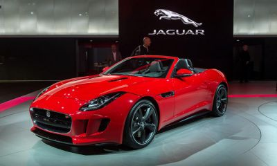 Jaguar F-type leads push to treble sales