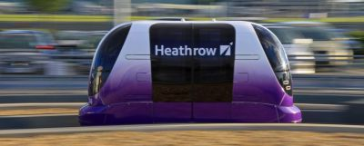 Personal Rapid Transit Pod cars- Heathrow Just Got Futuristic