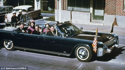 President Kennedy's Lincoln Continental Goes on Display for 50th Anniversary
