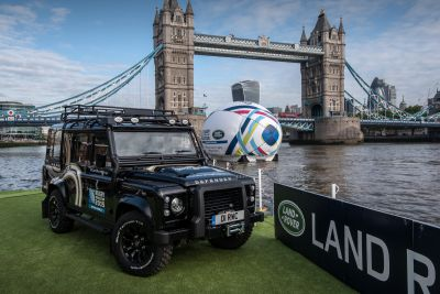 Land Rover's Official World Cup Cars