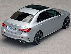Mercedes A Class Saloon on Order Now for 2019