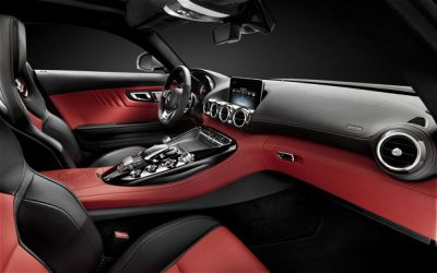 New Mercedes-Benz AMG GT Sports Coupe Interior Shots Revealed