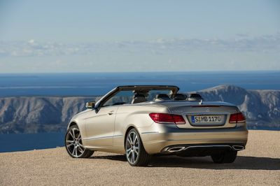 Mercedes reveal the revised E Class coupe and cabriolet