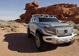 Mercedes Ener-G-Force concept car for the LA motor show