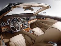 New Mercedes SL model inside