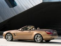 New Mercedes SL model side