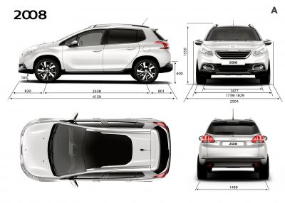 Peugeot reveal the new 2008 SUV