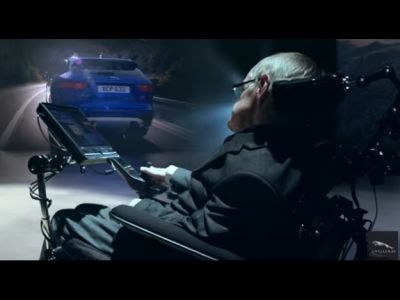 Tributes to Stephen Hawking who had embodied one of Jaguar's