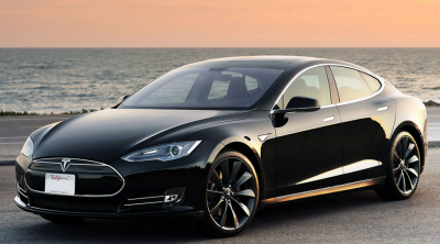 The Tesla Model S has a range of just over 300 miles