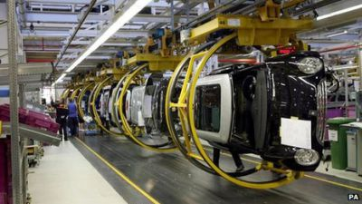 UK Car Production Nearing Six Year High