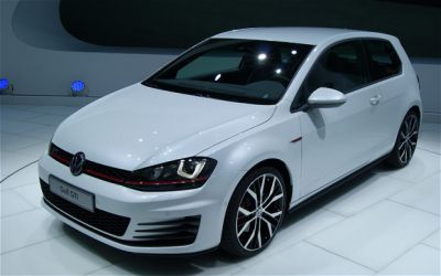 Volkswagen have unveiled the new Golf GTI at the Paris Motor Show