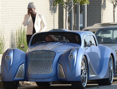 Will.I.Am's Fleet Of Luxury Cars
