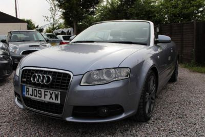 Audi A4 Cabriolet S Line Final Edition from £329