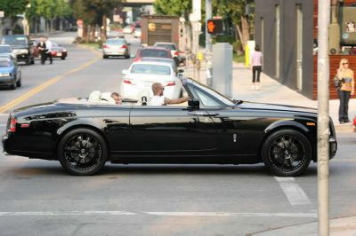 David Beckham - Rolls Royce Drophead Phantom - $400k