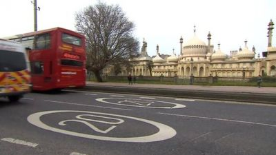 Brighton and Hove speed limit of 20mph is extended