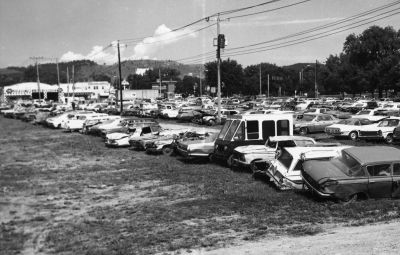 Classic car wrecks sell for more than new models