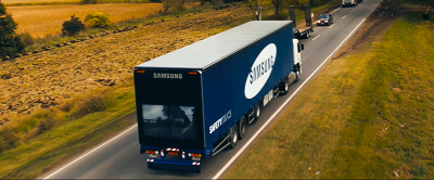 samsung truck see-through