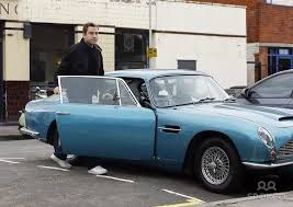 David Walliams Vintage Aston Martin