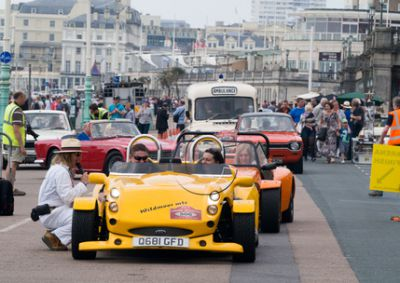 Pictures of Awesome Cars At Brighton Charity Riders