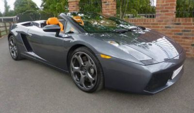 Jeremy Clarksons Lambourghini Gallardo