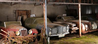 Awesome Vintage Cars Found On French Farm