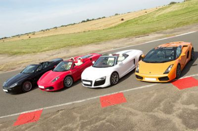 Supercar driving taster experience