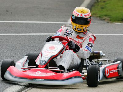 Go Karting - GMC Car Leasing Grand Prix (July 2008)