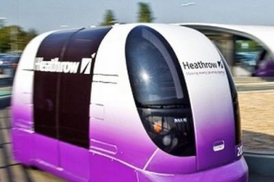 Heathrow Driverless Cars