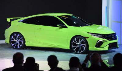 Honda Civic New York Auto Show