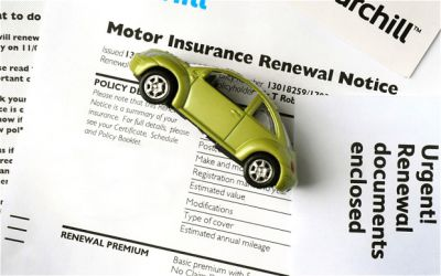 Car Insurance Premiums in Record Fall