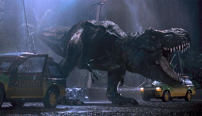 If Cars Were Dinosaurs - Jurassic Park