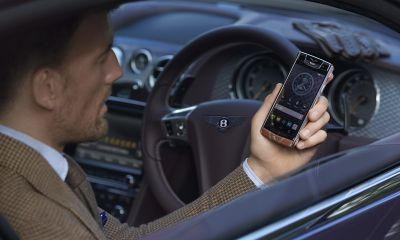 Vertu's Bentley Phone