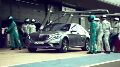 New Mercedes-Benz Ads - Efficiency At Its Best