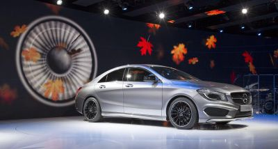 Mercedes CLA stars at the Detroit motor show