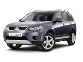 £255 - MITSUBISHI Outlander 2.0 DI-D Warrior 7 Seater with Leather